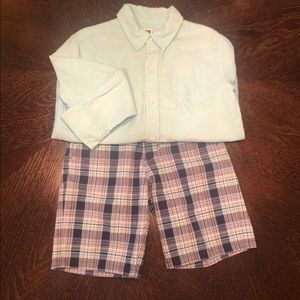 Boy's Janie and Jack Outfit, size 6